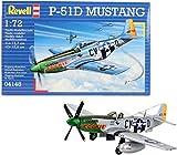 Revell-Disney Aviones Revell-P-51D Mustang, Kit de Modelo, Escala 1:72 (4148) (04148)