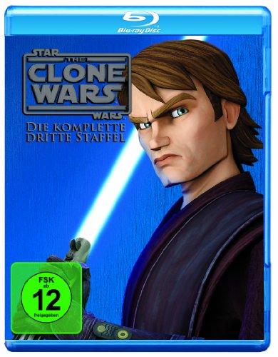 Star Wars - The Clone Wars: Staffel 3 [Blu-ray]
