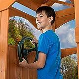 awhao Spielzeug Lenkrad Für Kinder Klettern Rahmen Oder Spielhaus Mit Montage Set (Grün) Special