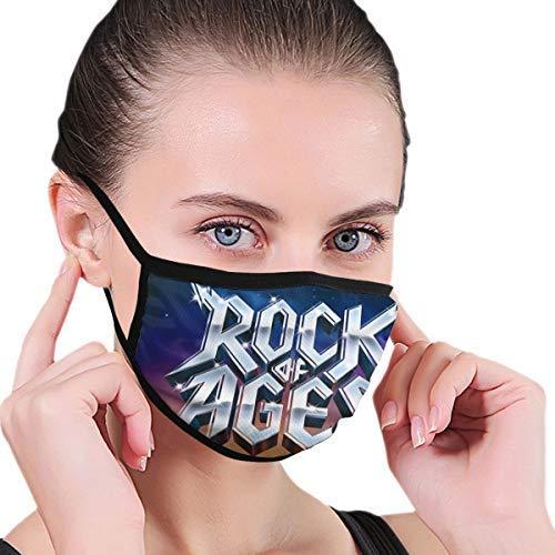 Características Musicales Los Golpes de Las Bandas, Incluido el Logotipo de Night Ranger Cubierta de la Cara al Aire Libre Cubierta de la Boca Escudo a Prueba de Viento Bufanda Bandana Hombres Mujer