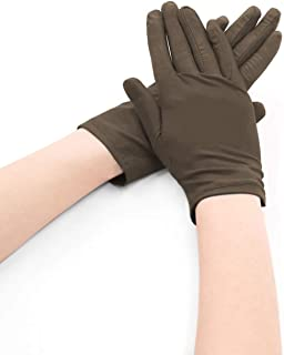 uxcell Women Spandex Gloves Costume Stretchy Wrist Length Full Finger 5 Pairs