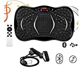 MorNon Vibration Plate Crazy Fit Body Shaker Massage Fitness Exercise Machine Oscillating Power Vibrating Home Power Plate Fitness Trainer Full Body Trainer
