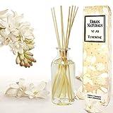 Urban Naturals Tuberose Fragrance Oil Reed Diffuser | Exotic Tuberose and Fragrant Orange Blossom | Floral Room Freshener with Reeds | Vegan. Made in The USA