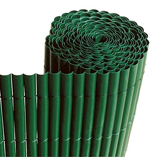Faura 16002 Simple Face Décoration Extérieure Canisse PVC Vert