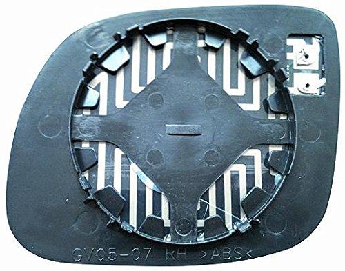 Cristal placa espejo retrovisor Fabia 1999-2004 derecho térmico