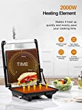 Zoom IMG-2 aicok panini maker griglia toastiera