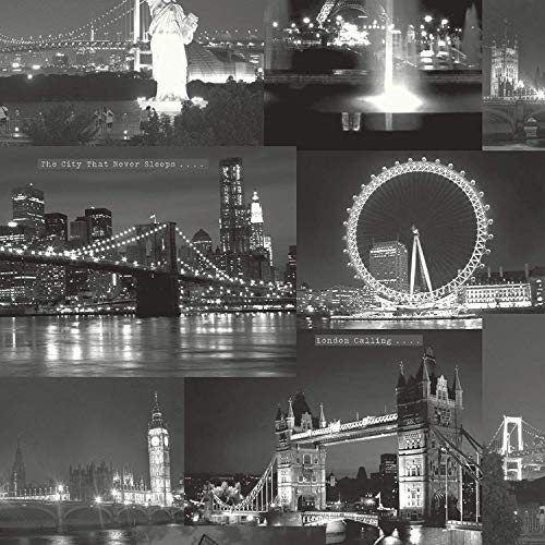 Black / White - 97670 - City By Night - London - New...