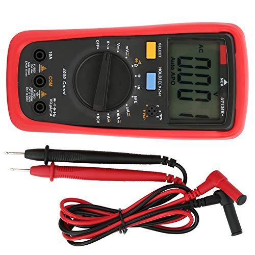 Medidor de prueba zumbador de encendido y apagado Multímetro de mano UT136B + Multímetro AC-DC NCV para la industria Con función NCV