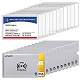 12 Pack New Medicare Card Protector Sleeves and 12 Pack...