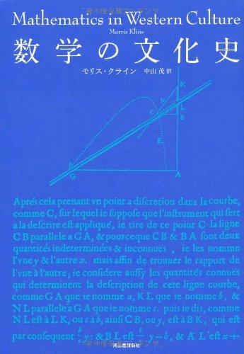 数学の文化史 (KAWADEルネサンス)