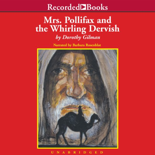 Mrs. Pollifax and the Whirling Dervish cover art