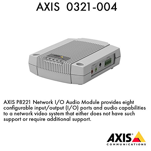 Axis P8221 Netzwerk I/O Audio-Modul