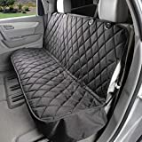 Dog Seat Cover Without Hammock for Cars, SUVs, and Small Trucks - Heavy...