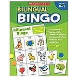 Scholastic Teaching Resources SC-9780439700672BN 2 Each Bilingual Bingo Vendor Foreign Language Games & Flash Cards