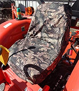 Durafit Seat Covers, KU01 CAMO Kubota Seat Covers for Tractor L2800,L3400,L4300,L4400 in Camo Endura