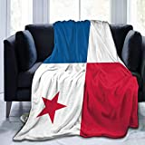 Yuanmeiju Throw Manta, Cozy Fleece Manta, Warm Super Soft Comfort Caring Gift for Children and Adult, 60' x50', Flag of Panama
