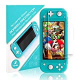 Screen Protector for Switch Lite 2019, Younikoo 2-Pack Transparent HD Glass Film, Anti-Scratch/Anti-Fingerprint/Bubble-Free
