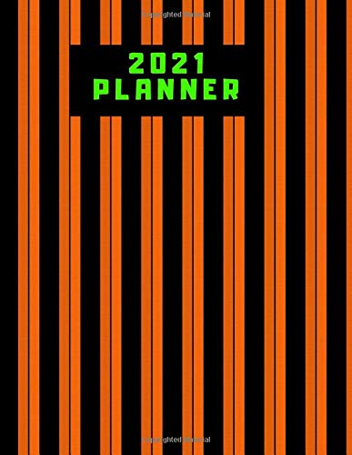 2021 Planner: Weekly and Monthly planning notebook Journal : Perfect gift book for Adulting, teacher, women, men, girls, student, adults, Christmas, ... school success Calendar & Checklist