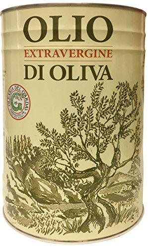 Natives Olivenöl extra del GARDA kaltgepresst 5 L Kanister - Olio extra vergine di oliva