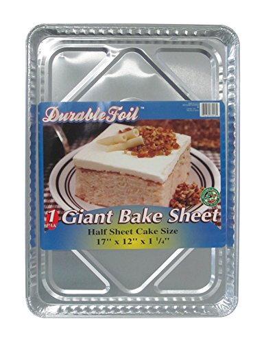 Durable Foil Giant Baking Sheet (Pack of 12)