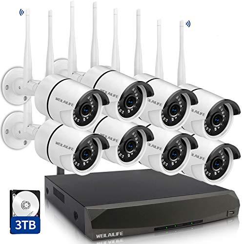 [Dual Antennas for WiFi Enhanced] Security Camera...