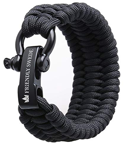 Friendly Swede Trilobite Paracord  Bracelet