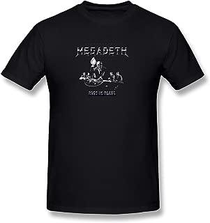 Men's Megadeth Rust in Peace Rip Album T-Shirt