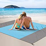 FYLINA Sandfree Beach Blanket Lightweight - Oversized Waterproof...