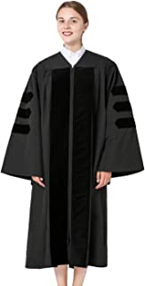 GraduationMall Classic Doctoral Graduation Gown