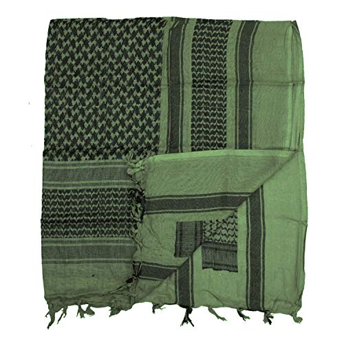 Tactical OLP écharpe foulard bandana écharpe palestiniens Keffieh keffiah Palestine Bundeswehr US Army koufa Irak Protection contre le froid utilisati