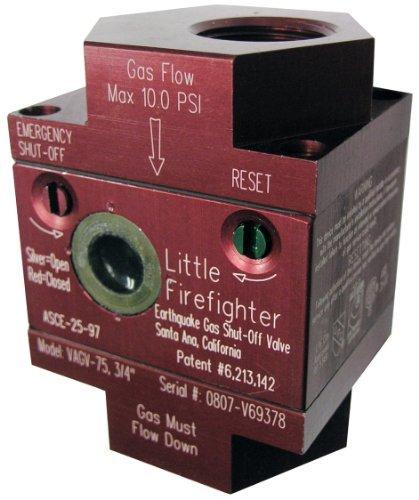 Watts VAGV075 3/4-Inch Earthquake Gas Shutoff Valve by Watts
