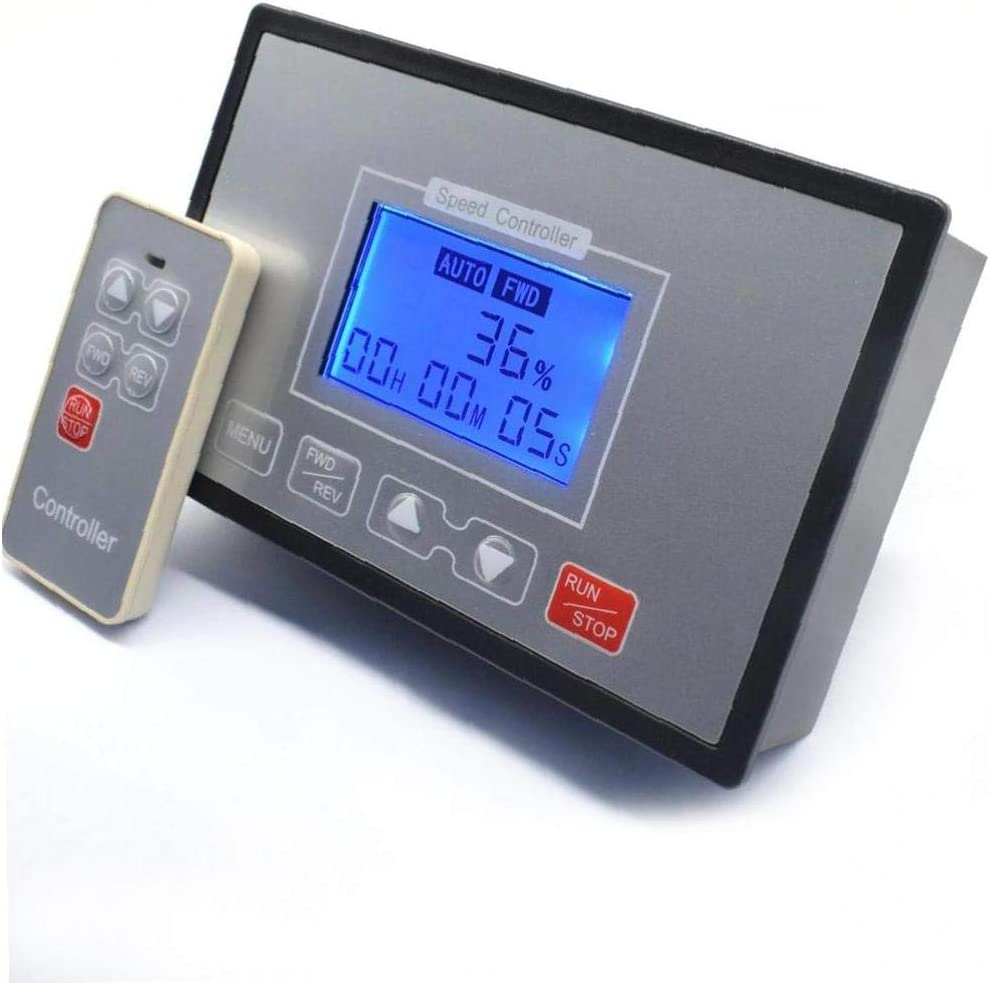 LCD Smart Digital Display 0~100% Adjustable Spe Pwm OFFicial 60a Dc Motor Max 43% OFF