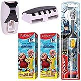 Colgate Kids Batman Electric Battery Powered Toothbrush 1 Pc + Colgate Motu Patlu Anticavity...