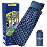 QPAU Camping Sleeping Pad, Waterproof Inflatable Sleeping Mat...
