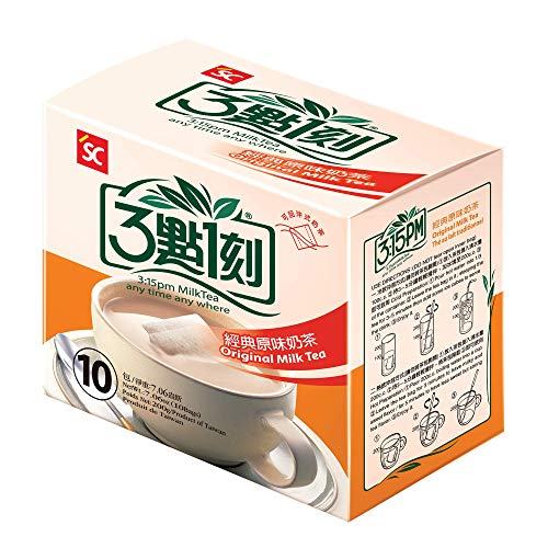 Milk Tea – Authentic Bubble Tea, Original Flavor, by 3:15pm, 7.06oz (10 bags)