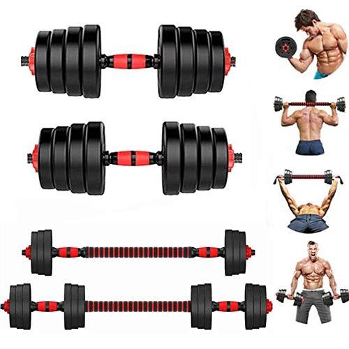 Mancuernas Grandes 2 En 1 Pesas Libres Ajustables Para Equipos De Mancuernas De Entrenamiento Muscul