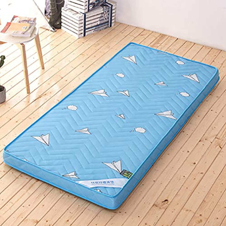 Thick Japanese Futon Tatami mat,Sleeping pad Foldable Soft Mattress Topper Single Double Breathable Student Dormitory Mattress-L 90x200x6cm