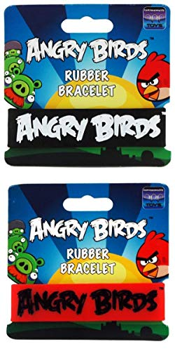 Angry Birds Rubber Bracelet: Assorted