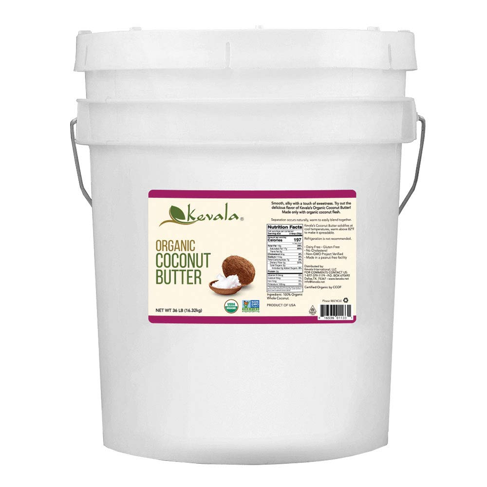 Kevala Organic Coconut Butter specialty shop Tucson Mall Bulk Pound 36