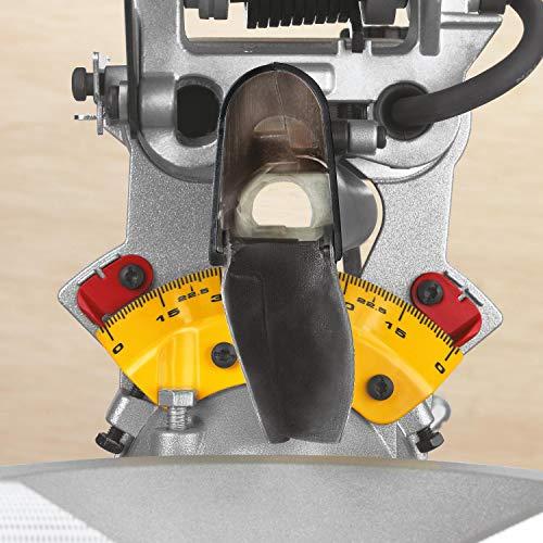 DeWalt Paneelsäge 1675W DWS780 inkl. Zubehör – Mit 305×30 mm HM-Sägeblatt ideal für den Innenausbau – Hohe Schnittkapazität & LED Schnittlinien Anzeige - 4