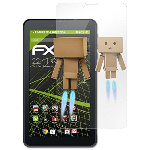 atFolix Displayfolie kompatibel mit Odys Rapid 7 LTE Spiegelfolie, Spiegeleffekt FX Schutzfolie