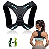 Posture Corrector for Women, iThrough Back Braces for Posture Correction for Men, Back Straightener Clavicle Support and Providing Pain Relief from Neck, Back and Shoulder (Fit 37-49') (37-49')