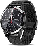 Try-NOVA Smart Watch for Android and iOS Phone IP68 Waterproof, Fitness Tracker Watch with Heart Rate Monitor Step Sleep Tracker, Smartwatch Compatible with iPhone Samsung, Watch for Men Women