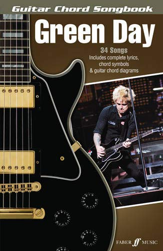 Green Day Chord Songbook Guitar Chords And Lyrics Book