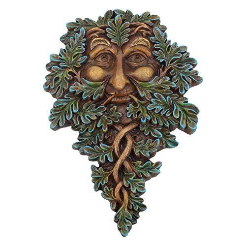 Nemesis Now Plaque Murale Guardian en chêne 19,5 cm Vert résine