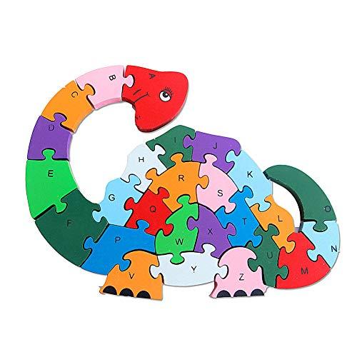 Houten Puzzel Voor 1 Jarigen Houten Puzzel Kids Boomgaard Puzzel Voor 2 Jarigen Houten Puzzel Voor Peuters Houten Puzzel Voor 2 Jarigen dinosaur&a