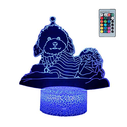 zhppac 3d Night Lamp 3d Light Night Lamp Kids Bedroom Lights Holy Communion Gifts For Girls Bedside Lamps For Bedrooms Kids Night Light remote,1