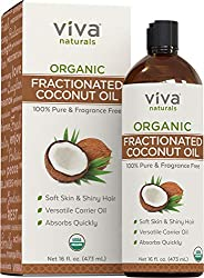 photo of Viva Naturals organic fractionated coconut oil