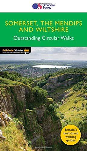 Somerset, The Mendips & Wiltshire Outstanding Circular Walks (Pathfinder Guides) (PF)