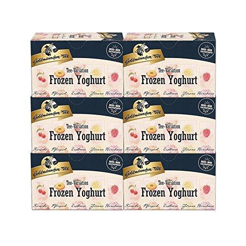 Goldmännchen-TEE Tee-Variation Frozen Yoghurt, 6er Pack